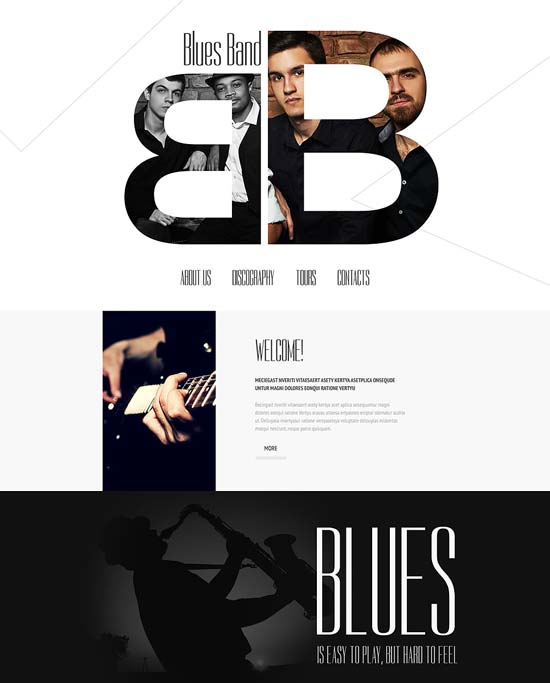 Music-Page-Website-Template