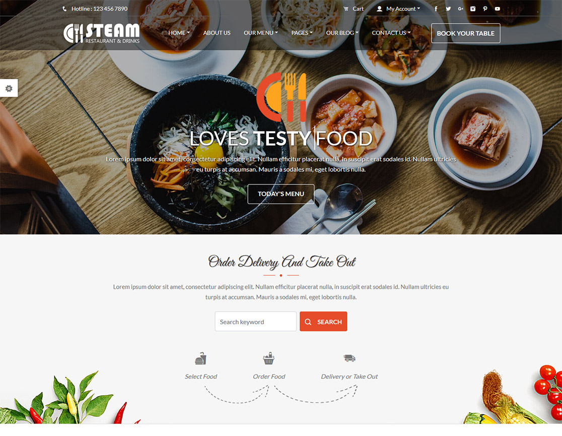 90+ Best Restaurant Cafe Website Templates Free & Premium ...
