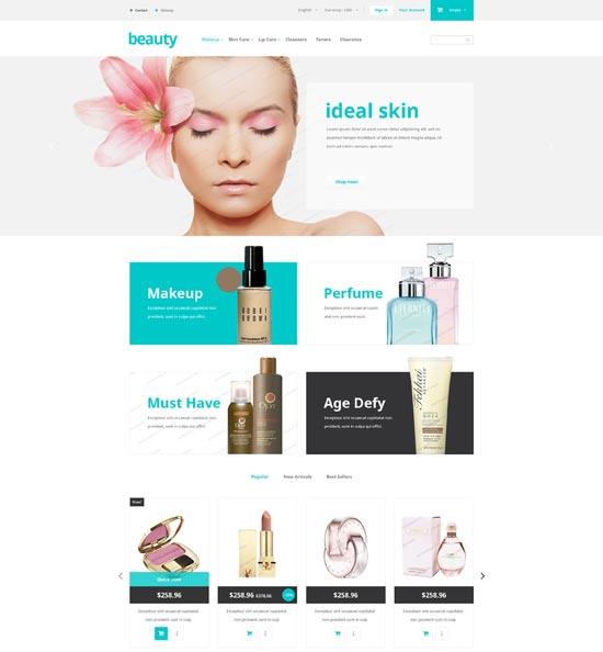 Beauty store free prestashop themes