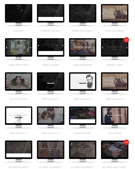 Rhythm - Best Website Templates