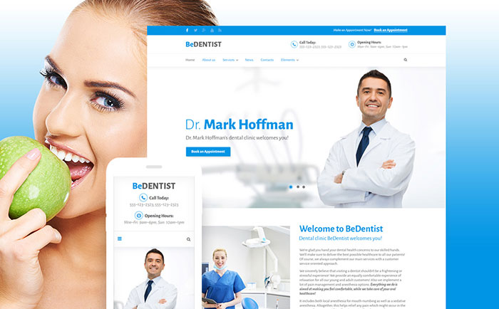 Dentist WordPress Theme