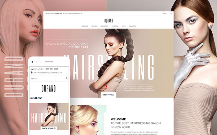 Hair Salon WordPress Theme