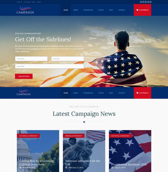 campaign-political-wordpress-theme