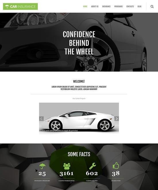 Asuransi Mobil Responsif Tema