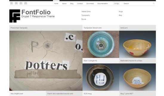 fontfolio-fresh-free-drupal-theme