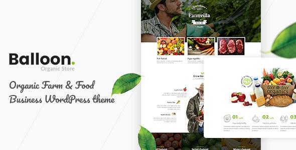 Balloon Organic Food Business