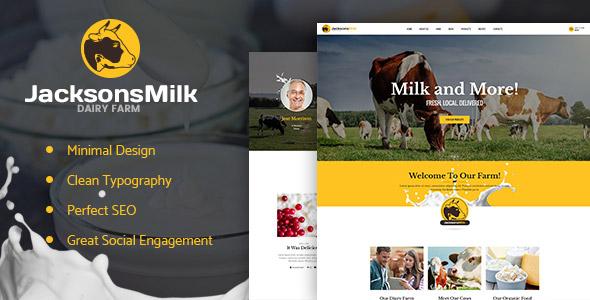 Dairy Farm & Eco Products Theme
