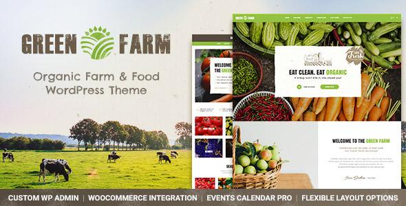Green Organic Food