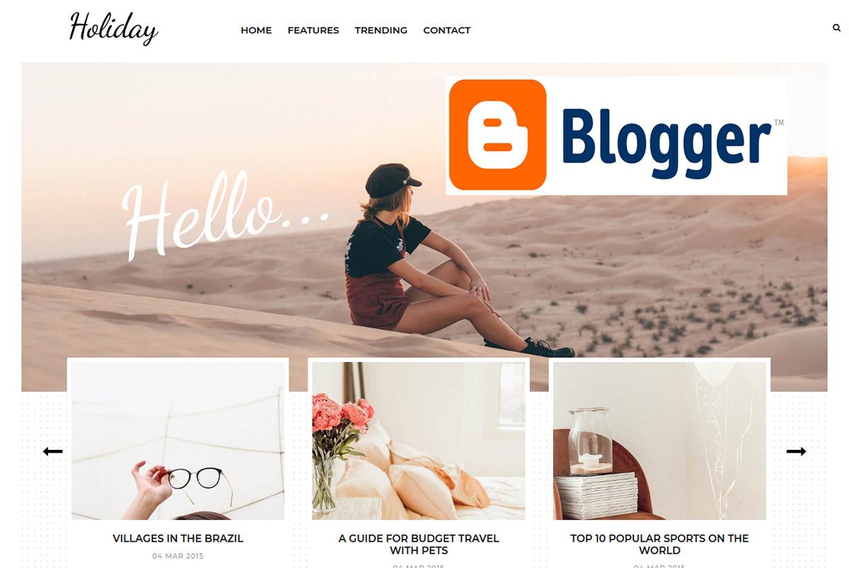 Minimal Blogger Template Responsive Design Custom Blogger Design Responsive Blogger template Blogger theme blogspot template Sunny