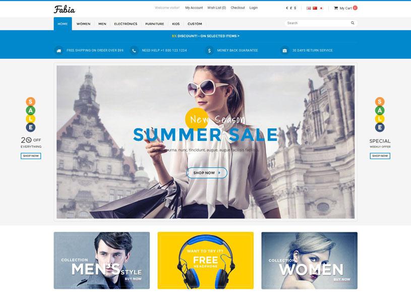 50 Best Responsive Opencart Themes Free Premium Freshdesignweb