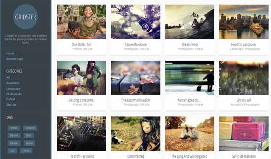 free wp photography themes