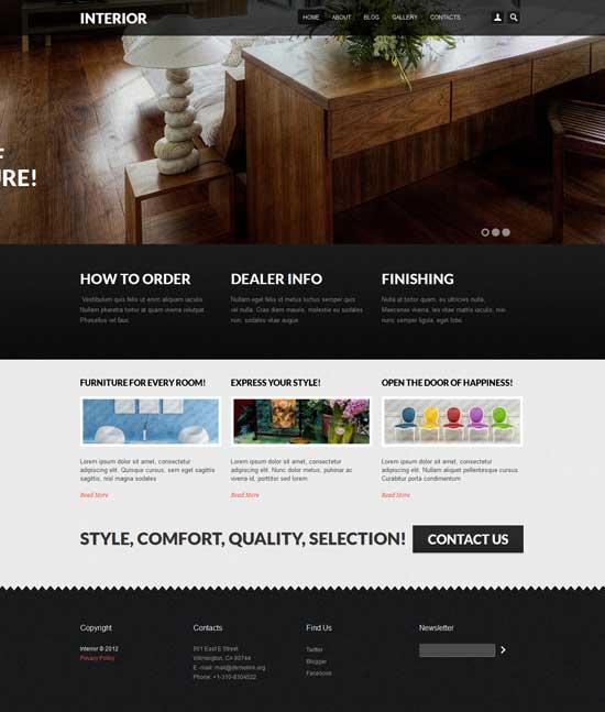 fresh intora responsive drupal theme