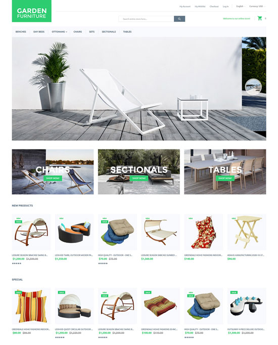 Garden Magento Themes