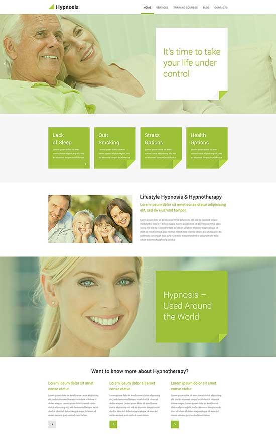 HypnosisHypnosis Health WordPress Theme
