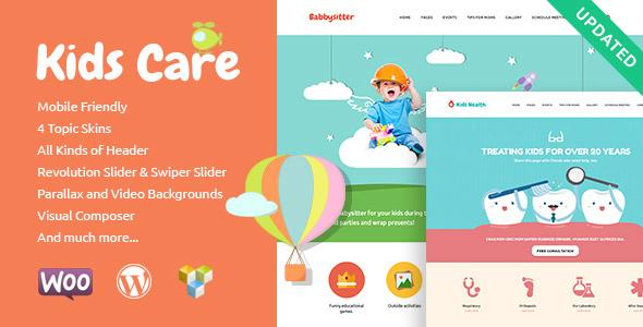 Kids Care   Multi-Purpose Children WordPress Theme