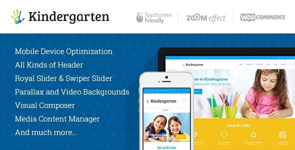 Kindergarten | Children WordPress Theme
