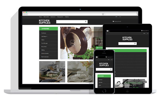 kitchen free OpenCart theme