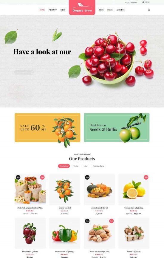 ordo organic beauty wordpress theme