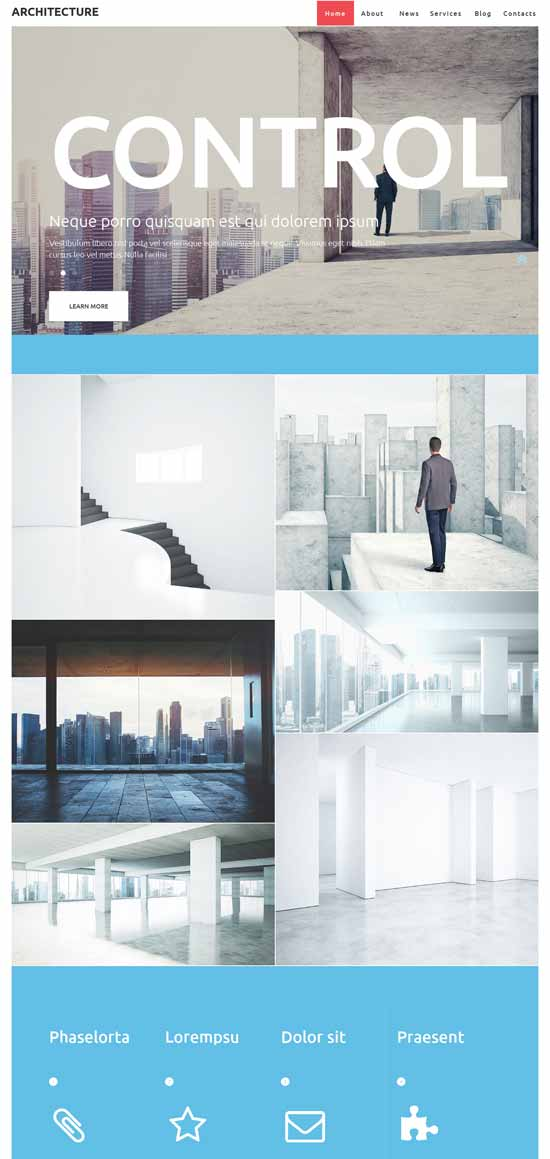 pro-architecture-construction WordPress theme