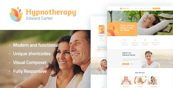 Hypnotherapy and Psychologist WP Theme