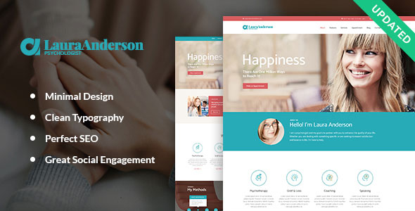 Psychologist   Therapy and Counseling WP Theme