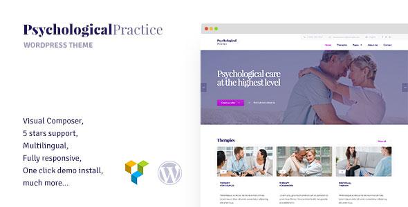 Psychology - WordPress theme for Psychological Practice, Psychologist and Psychiatrist