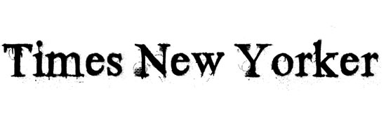 Times New Yorker - free fonts designers