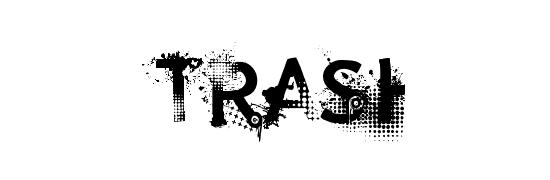 Trashco - free gothic fonts