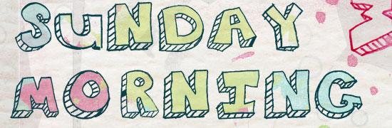 Sunday Morning Garage Sale - free halloween fonts