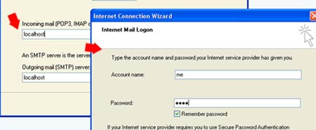 Test php mail function on your localhost
