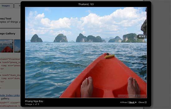 Floatbox JavaScript Lightbox