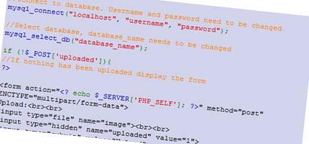Upload Image to Mysql Database with PHP