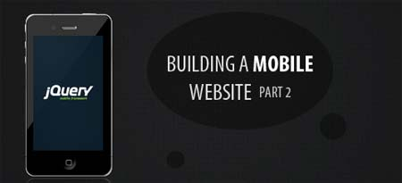 Building a Website with PHP, MySQL and jQuery Mobile