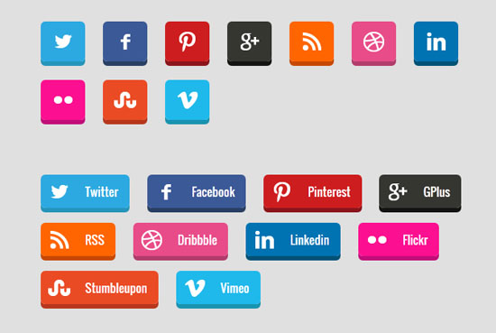 3D-Social-Media-Buttons-with-CSS3