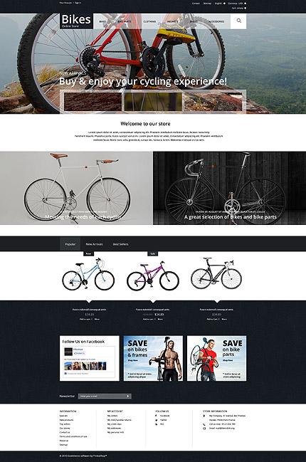 Bike Shop PrestaShop Theme