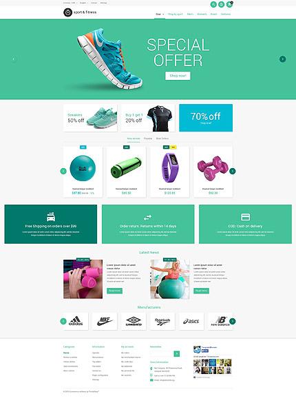 Sporting Goods PrestaShop Theme