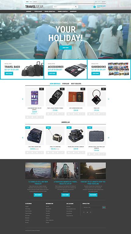 Travel Accessories PrestaShop Theme