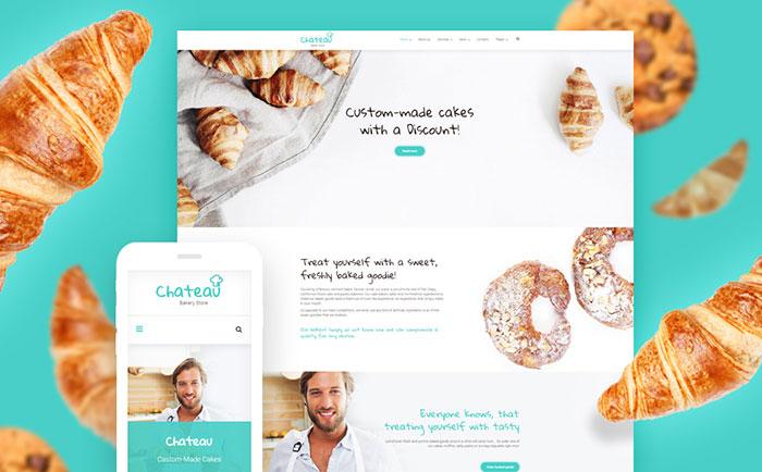 Cakes & Bakery Responsive WordPress Theme