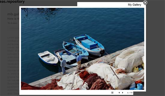 jquery mb.gallery - super clean photo gallery