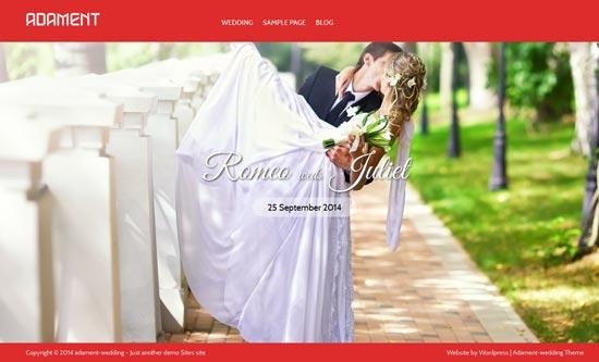 Adament-wedlock-Free-Wedding-WordPress-Theme