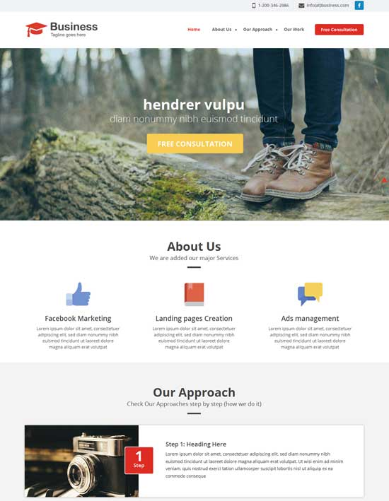 Agency-Free-Flat-Business-Responsive-Website-Template