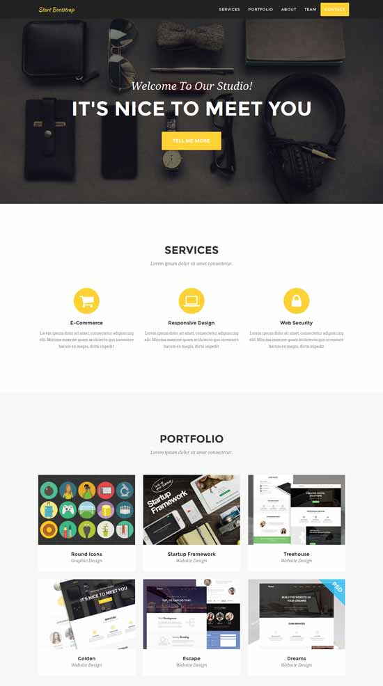 Agency-Free-one-page-Bootstrap-Theme