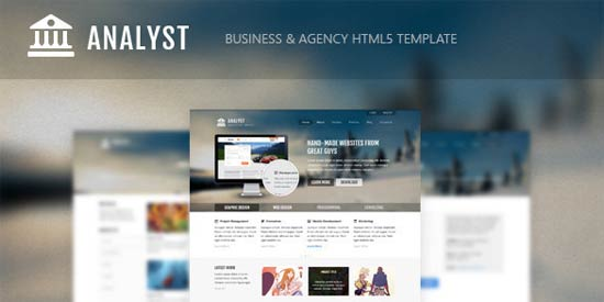 AgencyHTML5Template