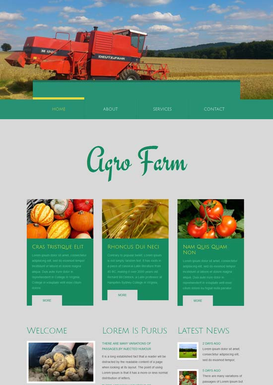 Agro-farm-free-agricultural-Website-Template