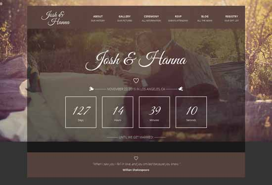 Aimer-Wedding-template-for-lovers