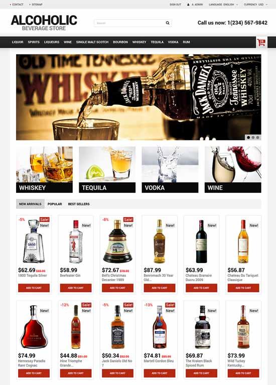 Alcoholic-Beverage-Wine-Store-PrestaShop-Theme
