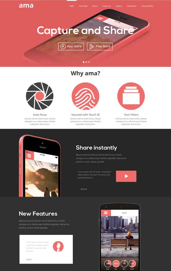 Ama-Free-Flat-Design-web-template