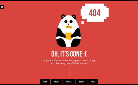 AngryPanda-Responsive-404-Maintenance-Template