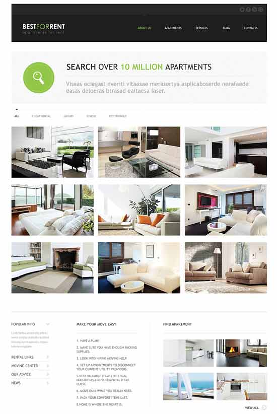 Apartments-Rent-Joomla-Template