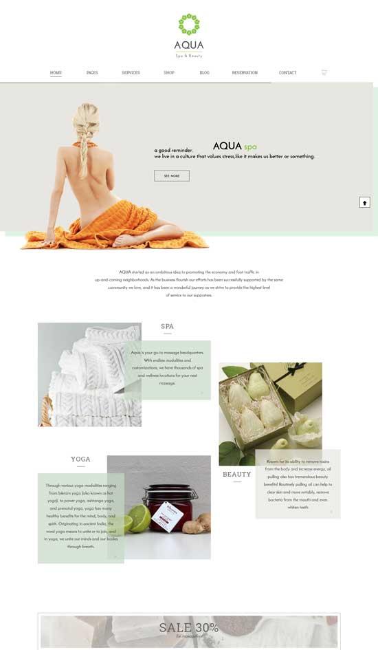 Aqua-Spa-Beauty-WooCommerce-Theme